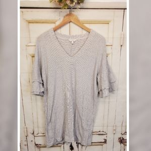 Lucky Brand Striped Tunic S